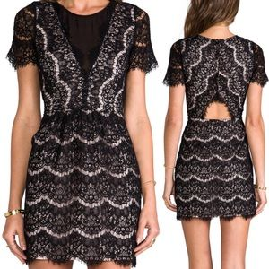Dolce Vita Saurus Eyelash Lace Dress Anthropologie